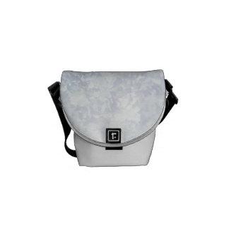 Light Floral Texture Background Template Messenger Bag