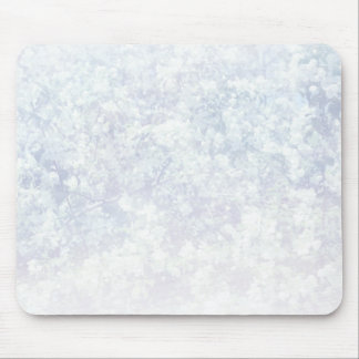 Light Floral Texture Background Template Mouse Pad