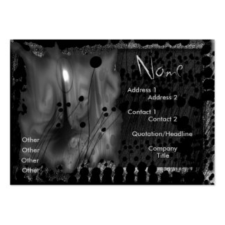 light flowers large business card