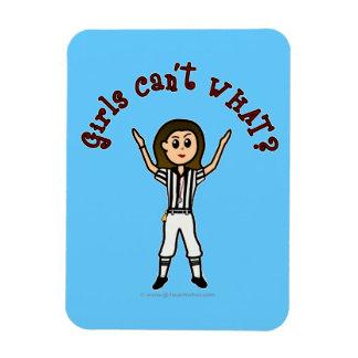 Light Football Referee Magnet