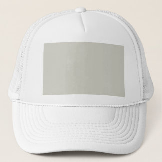 Light French Grey Beige Cream Color Only Trucker Hat