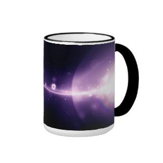 Light from heaven wide - ringer mug