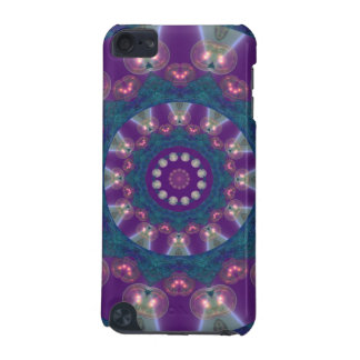 Light Gatherers, Magical Abstract Purple Mandala iPod Touch 5G Cover