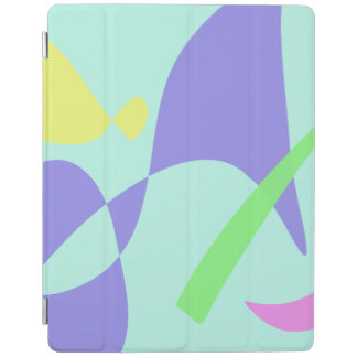 Light Gentle Soft Abstract iPad Cover
