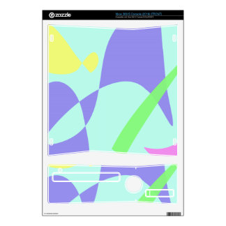 Light Gentle Soft Abstract Xbox 360 S Console Skins