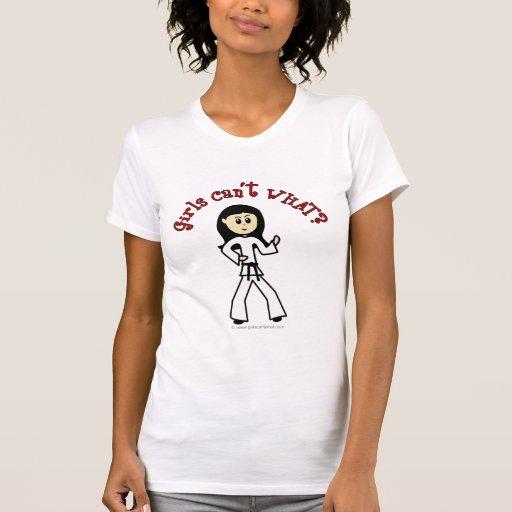 Light Girl Martial Artist T Shirts