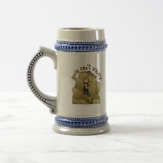 Light Girl Rock Climber Beer Stein
