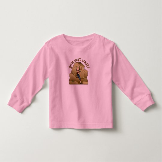 Light Girl Rock Climber Toddler T-shirt