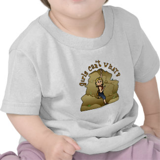 Light Girl Rock Climber T-shirt