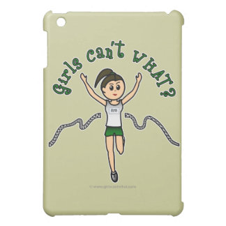 Light Girl Runner in Green Uniform iPad Mini Covers