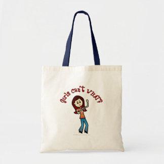 Light Girl Singer Tote Bag