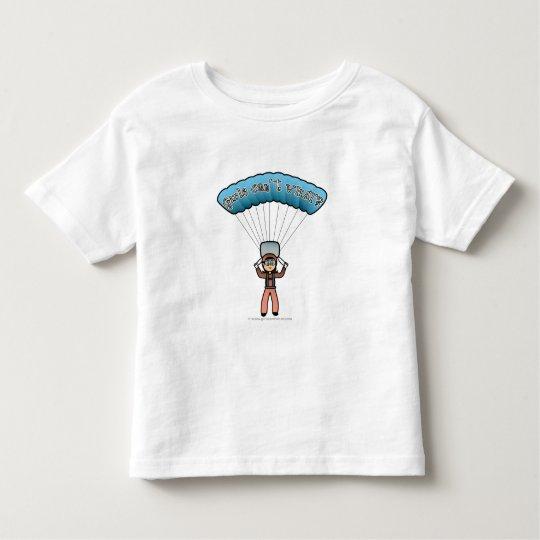 Light Girl Sky Diver Toddler T-shirt