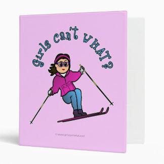 Light Girl Snow Skiing Binders