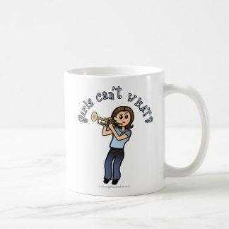 Light Girl Trumpet Player Coffee Mug