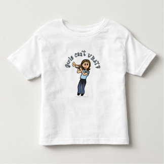 Light Girl Trumpet Player Toddler T-shirt