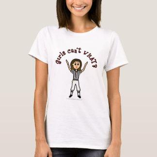 Light Girls Football Referee T-Shirt
