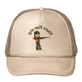 Light Girls Hunting Trucker Hat