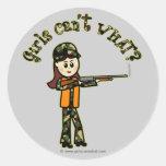 Light Girls Hunting Sticker