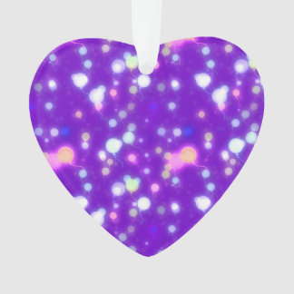 Light Glow Balloons Purple Colors Design