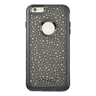 Light Gold Stars Print Pattern OtterBox iPhone 6/6s Plus Case