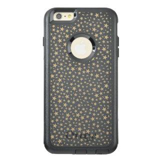 Light Gold Stars Print Pattern OtterBox iPhone 6/6s Plus Case