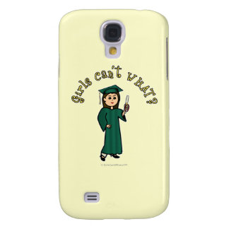 Light Graduate in Green Samsung Galaxy S4 Cover