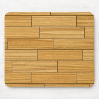 Light Grain Wood Pattern Mouse Pad