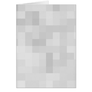 Light Gray Abstract Pattern. Greeting Card