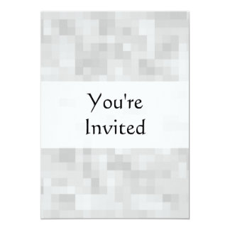 Light Gray Abstract Pattern. 5x7 Paper Invitation Card