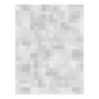 Light Gray Abstract Pattern. Postcard