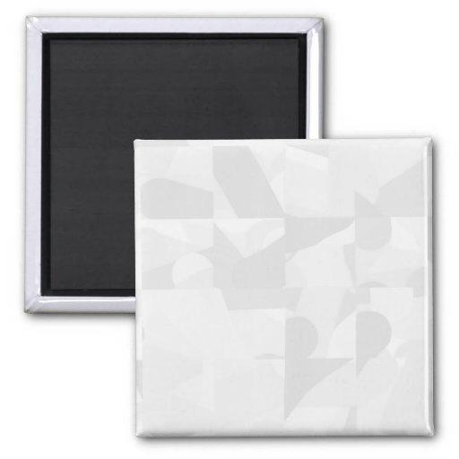 Light Gray Abstract Pattern. Refrigerator Magnet
