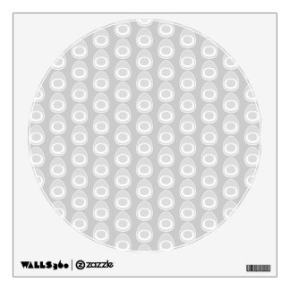 Light Gray Abstract Pattern. Room Decals
