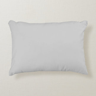 Light Gray Accent Pillow