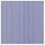 [ Thumbnail: Light Gray and Blue Lined Pattern Fabric ]