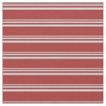 [ Thumbnail: Light Gray and Brown Colored Striped Pattern Fabric ]