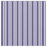 [ Thumbnail: Light Gray and Dark Slate Blue Colored Pattern Fabric ]