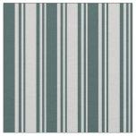 [ Thumbnail: Light Gray and Dark Slate Gray Colored Pattern Fabric ]