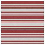 [ Thumbnail: Light Gray and Maroon Colored Pattern Fabric ]