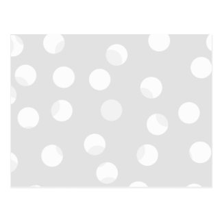 Light gray and white dotty pattern. post cards