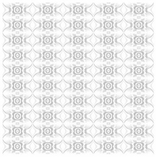 Light Gray and White Elegant Flower Pattern. Cutout