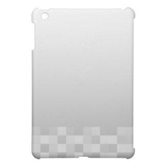 Light Gray and White Squares Pern. iPad Mini Cases