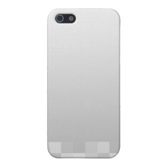 Light Gray and White Squares Pern. iPhone 5 Cases