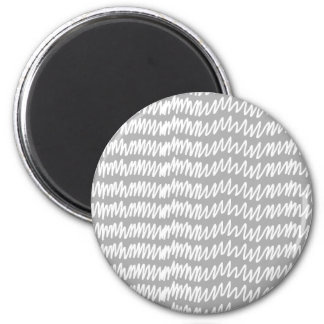 Light gray and white squiggle pattern. refrigerator magnets