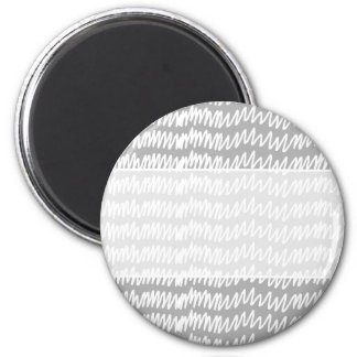 Light gray and white squiggle pattern. magnet