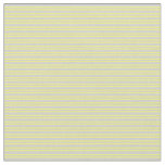 [ Thumbnail: Light Gray and Yellow Colored Striped Pattern Fabric ]