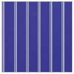 [ Thumbnail: Light Gray & Blue Lines/Stripes Pattern Fabric ]