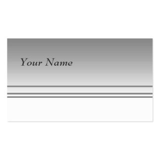 Light Gray. Elegant Design. Double-Sided Standard Business Cards (Pack Of 100)