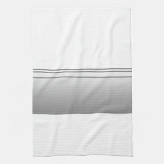 Light Gray. Elegant Design. Towel