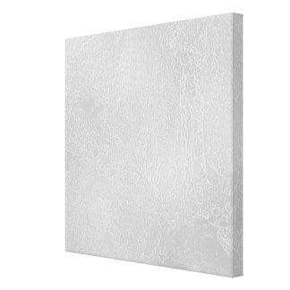 Light Gray Grunge Background Design Stretched Canvas Print