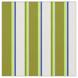 [ Thumbnail: Light Gray, Light Green, Green, White, and Blue Fabric ]